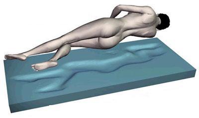 """7 Zonen Gel / Gelschaum Matratze \""""Relax\"""" Höhe 25 cm, 8 cm Gelschaum RG 85 günstige Alternative zum Wasserbett"""