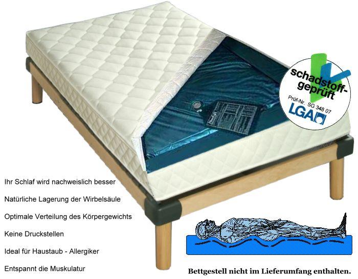 g nstige weiche wasserbett matratze wassermatratze mit heizung und wasserbetten gegen. Black Bedroom Furniture Sets. Home Design Ideas