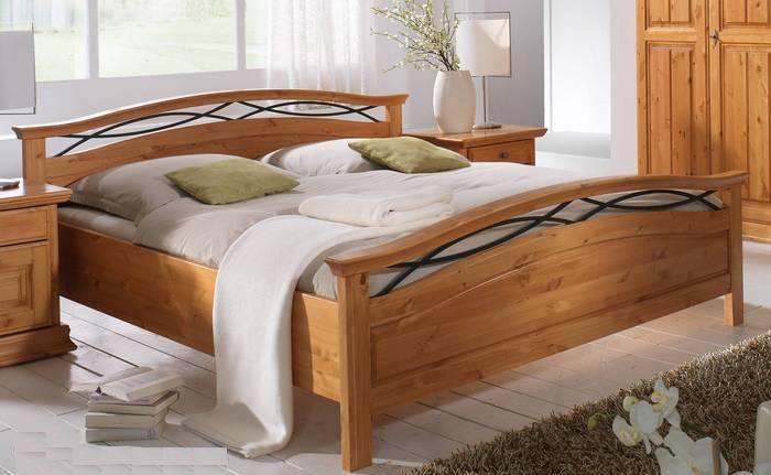 Günstige Massivholz Betten, Lederbetten, Polsterbetten + Boxspring Betten weiss, schwarz, beige ...